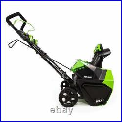 New PRO 60V 20 5.0 AH BRUSHLESS SNOW BLOWER THROWER TOOL ONLY No Battery