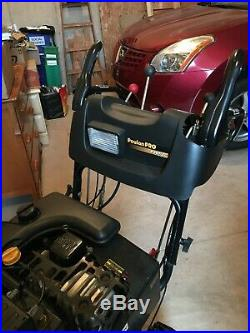 Poulan Pro 27 Wide Clearance Snow Blower Great Condition