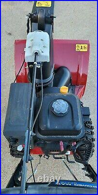 Power Max 824 OE 24 in. 252cc Two-Stage Electric Start Gas Snow Blower