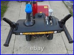 Power Max 824 OE 24 in. 252cc Two-Stage Electric Start Gas Snow Blower NEW