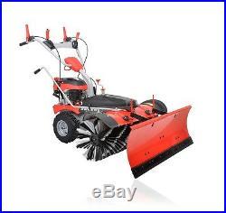 PowerPac Typ MK100 Benzin Kehrmaschine Schneefräse Schneeschieber Motorbesen