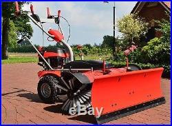 PowerPac Typ MK100 Benzin Schneefräse Kehrmaschine Schneeschieber Motorbesen