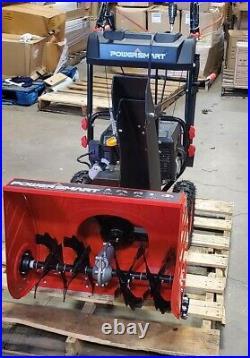 PowerSmart 24 in. 212cc 2-Stage Electric Start Gas Snow Blower PSSHD24