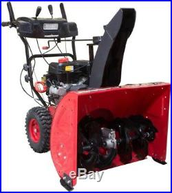 PowerSmart 27 In Gas Snow Blower Self-Propelled 2-Stage Electric Start