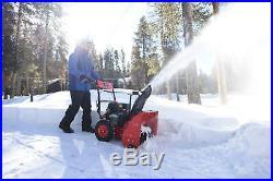 Powersmart 22 In. 2-Stage Manual Start Gas Snow Blower 12CC Powersmart