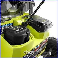 RYOBI 20 in. 40-V Single-Stage Brushless Cordless Electric Snow Blower withBattery