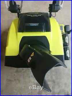 RYOBI 40V Cordless Brushless 21 Snow Blower with Two 5.0aH Battery & Charger