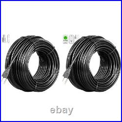 Roof Heat Cable Gutter De-icing Ice Snow Melter Cable Tape Kit with Thermostat
