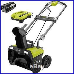 Ryobi 20 40V Brushless Electric 5.0 Ah Battery & Charger RY40850