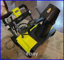 Ryobi 20 in. 40-Volt Brushless Cordless Electric Snow Blower RY40805