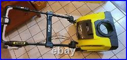 Ryobi 21 40V Brushless Cordless Electric Snow Blower RY40806 1 Battery/Charger