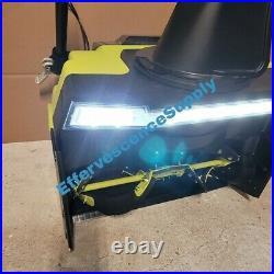 Ryobi 21 40V Brushless Cordless Electric Snow Blower RY40806 2 Batteries & Char