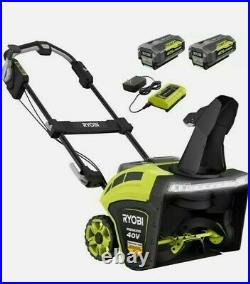 Ryobi 21 in. 40V Brushless Cordless Electric Snow Blower RY40806VNM DATED 2020