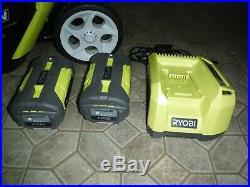 Ryobi Electric Snow Blower Kit 20 in. 40V Lithium-Ion Cordless Brushless Motor