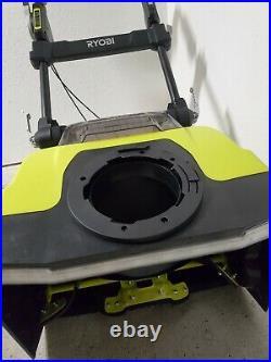 Ryobi RY40806 40v Cordless Brushless 21 Snow Blower. Missing Chute Deflector