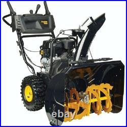 SLIGHTLY USED Poulan PR240 Snow Blower / Snow Thrower / Snowplow