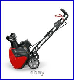 SNOW BLOWER Electric Cordless 20 82V Lithium-Ion Battery and Charger Included