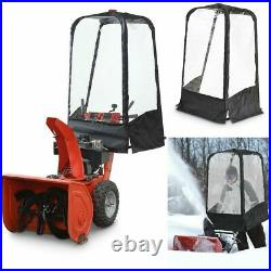 SNOW BLOWER PROTECTION CAB Attachment Cold Equipment Blocks Away Wind Blocker