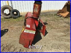 Sb1 Hanson 84 Inch Skid Steer Bob Cat Snow Blower Attachment