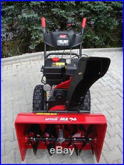 Schneefräse MTD ME76 zweistufig Elektrostarter Radantrieb Benzinmotor neu