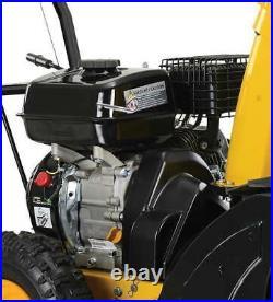 Schneefräse Schneeräumer Benzin 15m Wurfweite Einhandbedienung