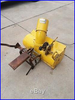 Sears Suburban Tractor snow thrower