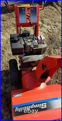 Simplicity SNO-AWAY 8 Two Stage Snowblower. 8/24