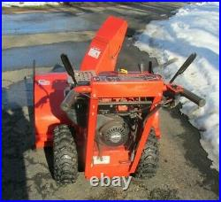 Simplicity Snow Blower 38 Inch Electric Start, Used Less Than Ten Hours