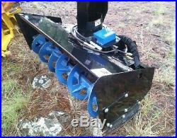 SkidPro snowblower attachment, 72, 10hrs use
