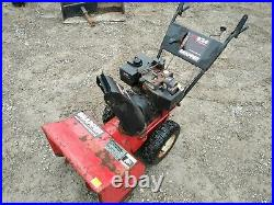 Snapper 2 Stage Snow Thrower 8 Horsepower 24 Clearing Width blower 8/24