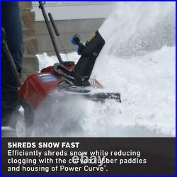 Snow Blower 18 in. Single-Stage Gas Wheel Drive Traction with Foldable Chute