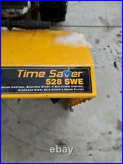 Snow Blower Cub Cadet Time Saver 528 SWE 10hp Tecumseh Runs