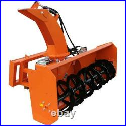 Snow Blower Front Mounted to Skid Steer, SS-SBH-84