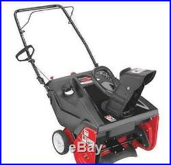 Snow Blower Gas Powered 21-Inch Single Stage 4-Cycle Thrower New