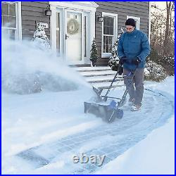 Snow Joe 48-Volt iON+ Cordless Snow Blower 18-Inch With Batteries & Charger