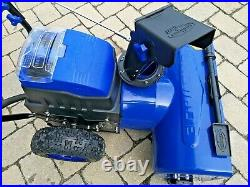 Snow Joe 80-Volt 24 Two-Stage Cordless Electric Snow Blower with2x5.0A Batteries