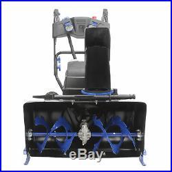 Snow Joe 80-Volt Cordless Two Stage Snow Blower Kit 24-Inch 5 AH