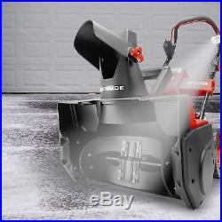 Snow Joe Cordless Single Stage Snow Blower 18-Inch Brushless Battery Inc