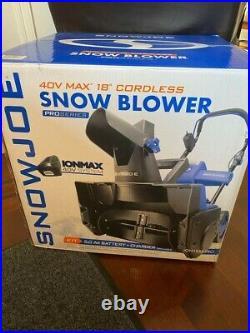 Snow Joe Cordless Snowblower