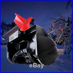 Snow Joe Electric Single Stage Snow Thrower 18-Inch 13.5 Amp Headlights