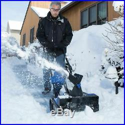 Snow Joe Hybrid Snow Blower 18-Inch 40 Volt 13.5 Amp Certified