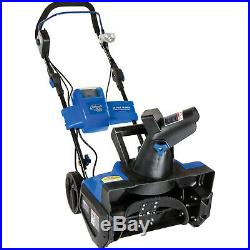 Snow Joe Ion Cordless Single Stage Snow Blower With Rechargeable Battery