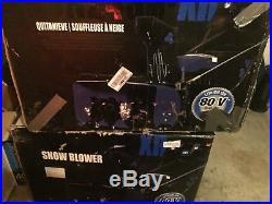Snow Joe iON (24) 80-Volt Lithium-Ion Cordless Electric 2-Stage Snow Blower