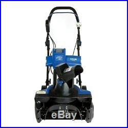 Snow Joe iON Cordless Single Stage Snow Thrower with Blue