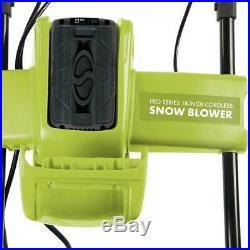 Snow Joe iON18SB-PRO-GRN Cordless Snowblower 40V 5.0-Ah 18-Inch