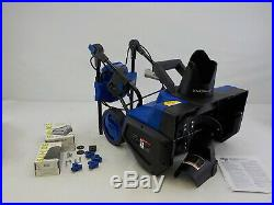 Snow Joe iON21SB-PRO Cordless 21 Snow Blower, 5Ah 40V Battery, Brushless