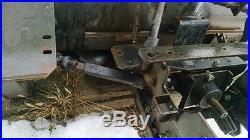Snow blower attachment AYP Craftsman SEARS 42 Model SB800AR Gas, Single Stage