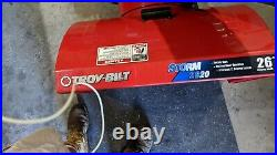 Snow blowers used, Troy Built, 26 Inch
