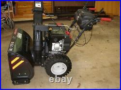 Snowblower 30 TROY-BILT STORM 3090 XP ELEC & PULL USED TWICE See Description