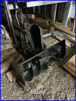 Snowblower Attachment For Troybuilt Tractor